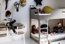 Shared Kids Rooms / Do your kids share a room? Here you will find Bunk Beds, Shared Girls Rooms, Shared Boys Rooms and more.
