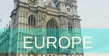 Europe / Travel to European Continent - Tips, tricks and treasures...