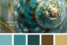 || COLOR the world || / Color themes & moodboards