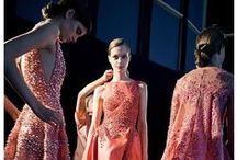 Fashion / Fashion and style that grabs your attention, beautiful haute couture and designers, backstage photography and details.