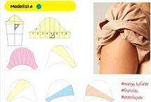 ♥ La costurerita / Moldes, DIY con telas y tips de costura, entre otros.