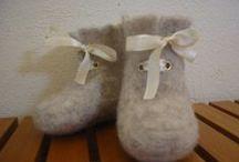 Baby's bootees / пинетки / futter /sutsko