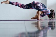beautiful yoga in colors / fantastic, inspiring colorful photos