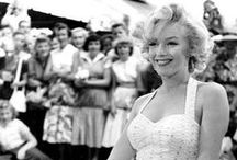 Iconic Celebrities / Photographs of stars of the silver screen, both old and new. Some people are so photogenic, celebrities from the Golden Age of Hollywood, the catwalk and music