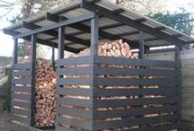 Storage shed / cool ideas for outdoor storage