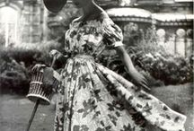 Vintage Style / Elegance from the past, 30s, 40s, 50s and 60s fashion, vintage haute couture and style