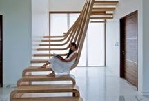 Staircases / From beautiful spirals to stark concrete, amazing staircases that finish off architecture and a home