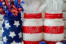 Fourth of July / Red, White and Blue inspiration.