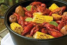 Crawfish Recipes / A southern favorite, here are different ways to use crawfish.