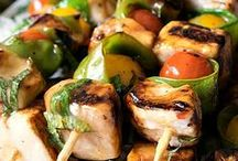 Swordfish Recipes / Whether it be steaks on the grill or kabobs with veggies, find a recipe to cook this hearty fish.