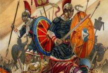 Ancient/Dark Ages/Early Medieval (military) / soldiers/battle/battle scenes / by Alex Aja