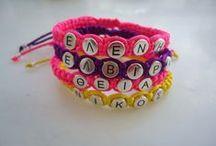 """Names"" / ""your name on bracelet"""