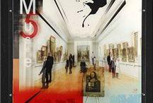 """Mes créations à 4 mains : Et Caetera / Les tableaux que je crée avec l'artiste plasticien Vincent Gachaga sont signés """"Et Caetera"""" ou """"Etc"""". De l'urbain mais pas que, différents supports, toile et plexi, vinyle chauffé et affiche, verre armé... l'imagination n'a plus de limites !"""