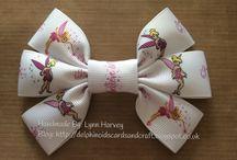 Handmade Hair Bows By Lynn Harvey