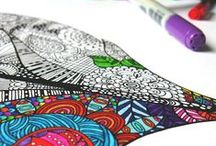 Coloriage adulte - Art Therapy - Color Therapy