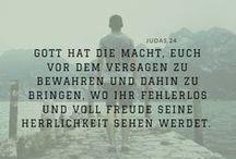 Bibelverse | Gott & Jesus / Bibelverse über Gott und sein Wesen.