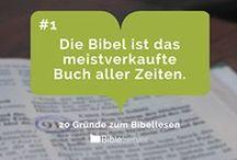 Gründe zum Bibellesen / Regelmäßig in der Bibel lesen - wir sagen dir, warum.