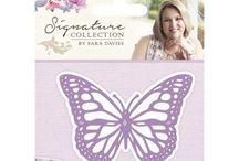 Sara Davies Signature Collection / A collection of Sara Davies's own design of dies, papers, stamps etc.