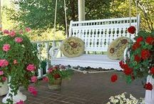 Porches and Patios / by The Roseberry Cottage ~ Carol