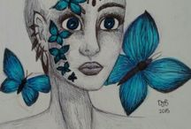 My Drawings / Just some of my doodles. Repin if you like?
