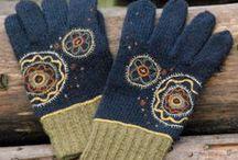 Mitten and gloves