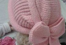 Knitted hats for kids