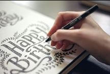 Hand-Lettering & Typography / by Shanna Masters Designs