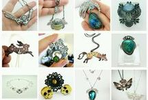 Jewelry, Art, My Work at Black Rabbit Studio / Jewelry, hand made, Art, black-rabbit-studio.com