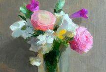 Vase of Flowers -Art. / .