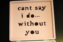 """Can't Say """"I Do"""" Without You!- Bridesmaid, Groomsmen, Flower Girl, and Ring Bearer Inspiration / Repinned from Users on Pinterest!"""