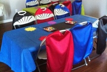 Up, Up, and Away- Superhero Party Theme Inspiration / Repinned from users on pinterest!