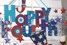 Let Freedom Ring- Fourth of July Party Theme Inspiration  / Repinned from Users on Pinterest!