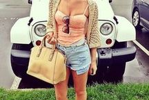 Summer Closet. / Cute outfits that can be worn around Spring/Summer months