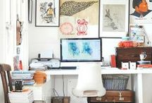 office space / office decor ideas & organization / by anne momber