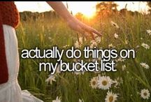 Bucket List / by Rachelle Lynn