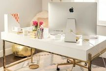 HOME | OFFICE / Ideas and inspiration for the most practical, functional yet fabulous office or work space including storage solutions, design ideas, decor and more...