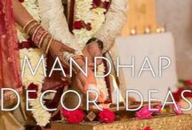 Mandhap Ideas / by Unique Design & Events Draping | Specialty Linens | ModernFurniture