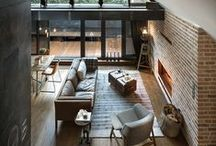 Homes and interiors / Beautiful houses and interior design