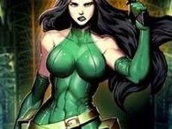 Viper-Madame Hydra illustrations