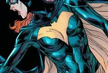 Batgirl illustrations