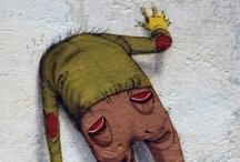 Arte Urbana, Intervenção e Graffiti  / by Jamile Alboleda