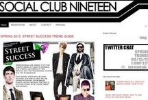 Social Club 19 / Your men's fashion and style resource from Social Club 19 and Socialclub19.com.  / by Jeremiah