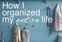 an organized life / by Alicia {The Baker Upstairs}