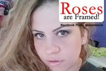 """Roses are Framed / Get your camera, smart phone or tab out. Our """"Roses are Framed"""" a unique, rosy photo competition is out too. All you need to do is send us photo with a rose in the frame. The photo that gets the maximum number of votes will win a """"100 Rose Bouquet"""". http://woobox.com/ch44za"""