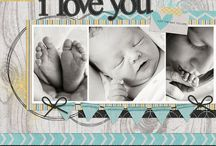 For Billie baby scrapbook / by Melissa Reddekopp