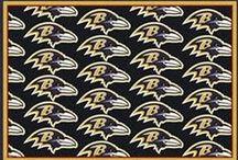 NFL Team Spirit Repeat Rug