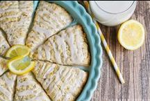 love me some lemon / All the best lemon recipes! / by Alicia {The Baker Upstairs}