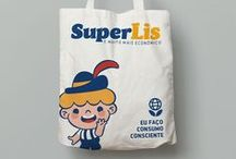 our work | SUPERLIS / Rebranding project for a local supermarket located in Agudo, RS.