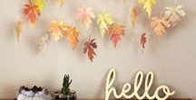 Autumn Crafts / The board of our Top 5 paper crafts we love for Autumn!