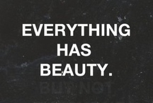 Words of Beauty